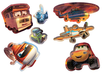 Самолети: Спасителен отряд: Чети, оцвети, залепи!