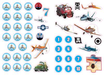 Самолети: Хайде да научим 1 2 3