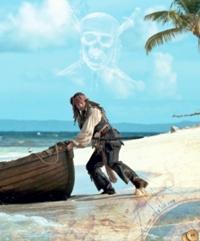 Карибски пирати: В непознати води   Книга за филма