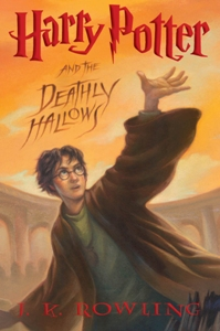 Кориците на Harry Potter and the Deathly Hallows - Scholastic